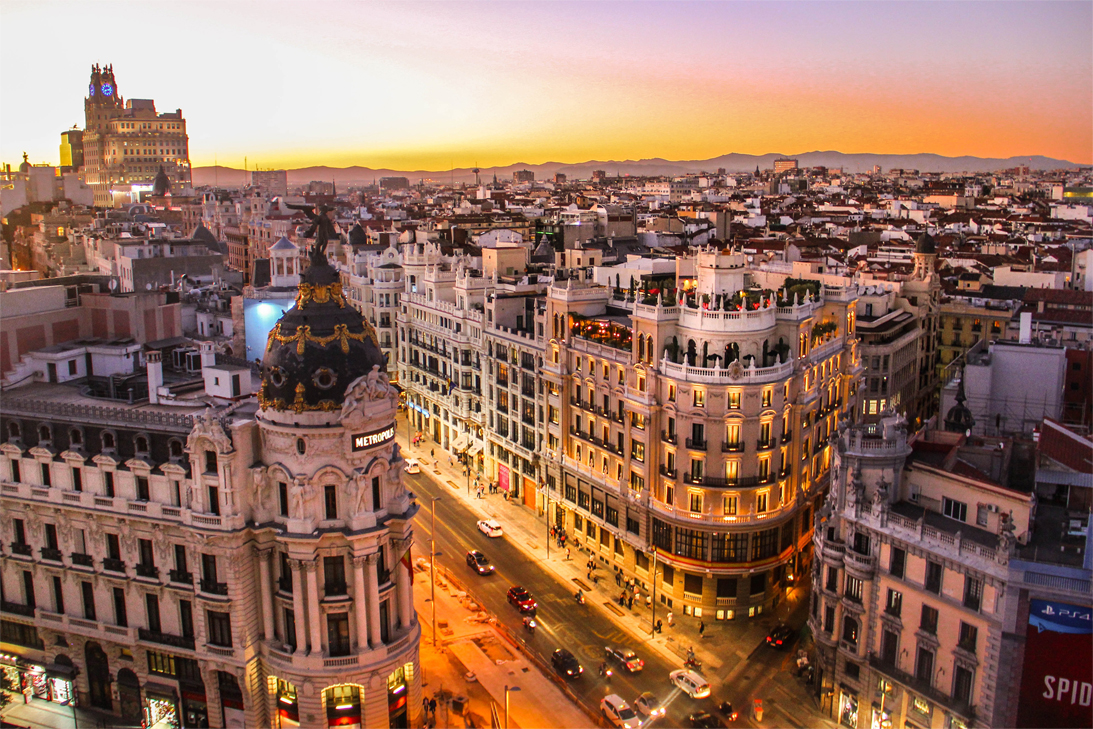 Madrid, a great place to live. A growing capital.